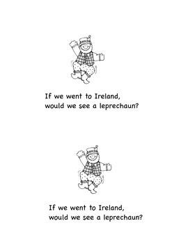 Emergent Reader: Ireland