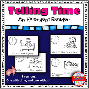 Emergent Reader - Telling Time
