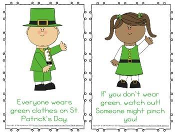 "Emergent Easy Reader: ""It's Saint Patrick's Day!"""