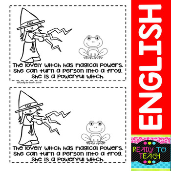 """Emergent Reader """"Its a Lovely Witch"""" ( 3 Levels)"""