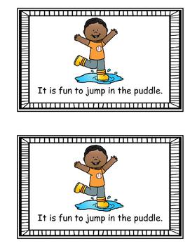 Emergent Reader - Jumping Fun