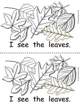 Leaves Emergent Reader