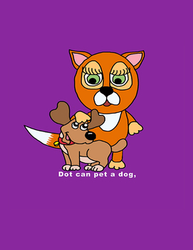 Emergent Reader Lesson - Dot The Fox - (Short O words)