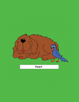 Emergent Reader Lesson - Get Up, Tom - three basic words story