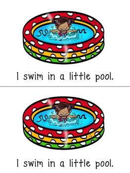 Emergent Reader:  Let's Swim!