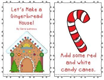 "Emergent Easy Reader: ""Let's Make a Gingerbread House"""