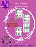 2 Emergent Readers - Letter Nn Theme (with Bonus Reader)