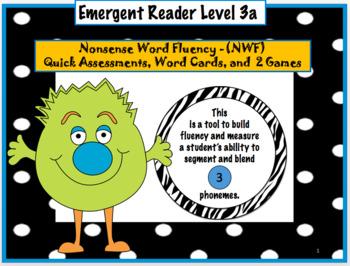Emergent Reader Level 3 - Nonsense Word Fluency