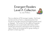 Emergent Reader Level A Collection