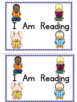 Emergent Reader Level A with Sight Words I AM  Kindergarten Reading Street