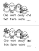 Five Little Penguins Reading Book