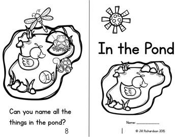 Pond Life Emergent Reader (Level B)