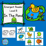 Pond Life Emergent Reader (Level B)
