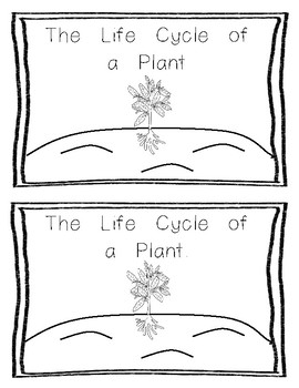 Emergent Reader:  Life Cycle of a Plant Level 1