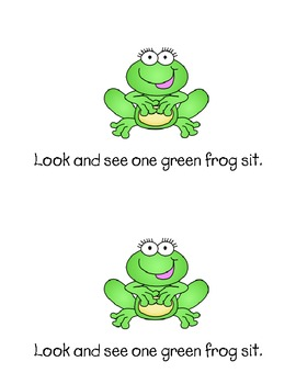 Emergent Reader - Look and See: Frogs