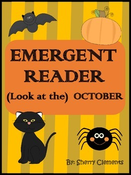 October Emergent Reader: Look at the