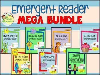 Emergent Reader MEGA Bundle!  Save over 45%