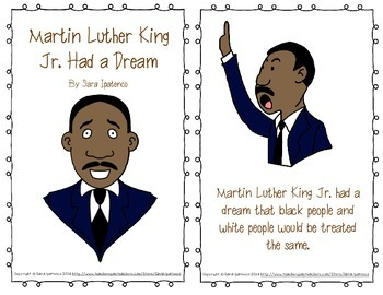 "Emergent Easy Reader: ""Martin Luther King Jr. Had a Dream"""