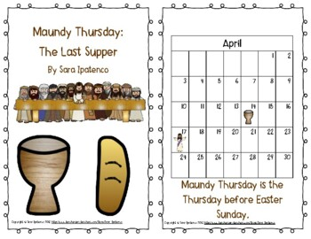 """Emergent Easy Reader: """"Maundy Thursday: The Last Supper"""""""