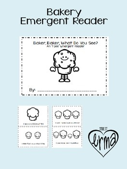 Emergent Reader Mini Book: Baker, Baker What Do You See?