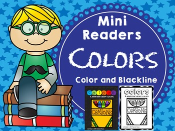 Emergent Reader (Mini Book) - COLORS