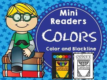 Emergent Reader (Mini Book) - COLORS