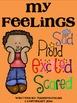 Emergent Reader (Mini Book) - My Feelings