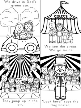 Emergent Reader (Mini Book) - The Circus