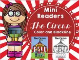 Emergent Reader (Mini Book) - The Circus