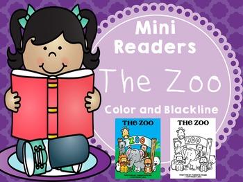 Emergent Reader (Mini Book) - The Zoo