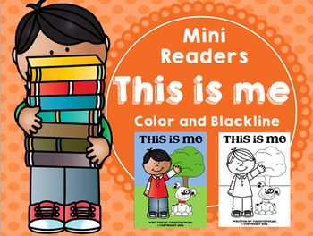 Emergent Reader (Mini Book) - This is Me