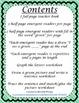 Emergent Reader Mini-Unit - I See Green