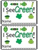 Emergent Reader Mini-Unit - I See Green