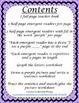 Emergent Reader Mini-Unit - I See Purple
