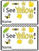 Emergent Reader Mini-Unit - I See Yellow!