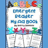 Letter Aa Emergent Reader (sight words: what, is, this, it)