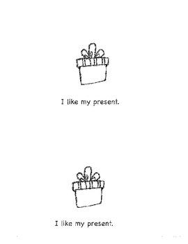 Emergent Reader: My Birthday