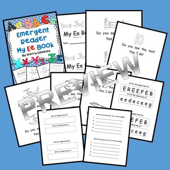 Emergent Reader: My Ee Book (sight words: do, you, see, the, yes)