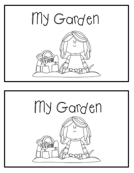 Emergent Reader - My Garden