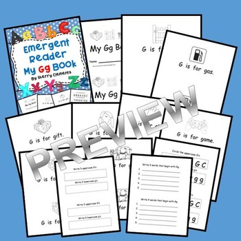 Emergent Reader: My Gg Book: Sight Words (is, for)