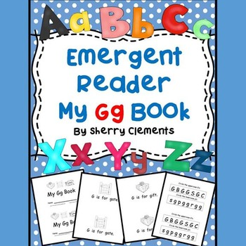 Letter Gg Emergent Reader Sight Words (is, for)