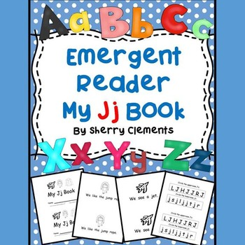 Emergent Reader: My Jj Book: Sight Words (we, see, a, like, the)