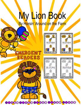 Emergent Reader - My Lion Book