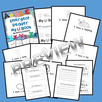 Emergent Reader: My Ll Book: Sight Words (I, have, a)