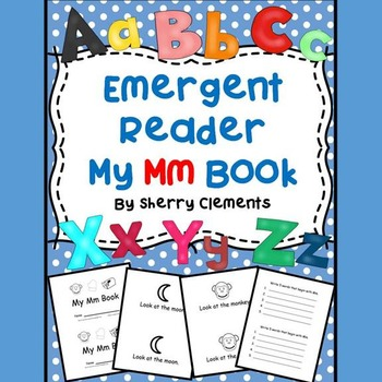Letter Mm Emergent Reader Sight words (look, at, the)