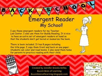 Emergent Reader - My School!
