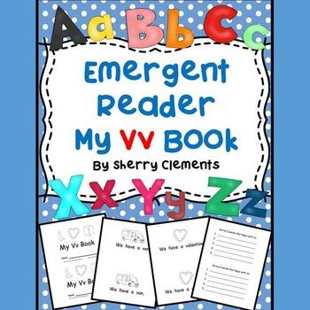 Letter Vv Emergent Reader Sight Words (we, have, a)