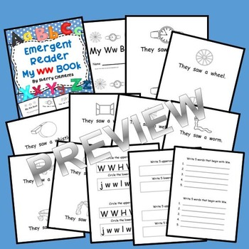 Emergent Reader: My Ww Book: Sight Words (they, saw, a)