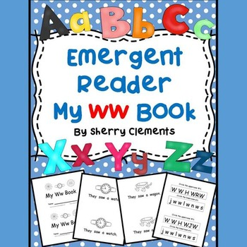 Letter Ww Emergent Reader Sight Words (they, saw, a)