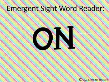 Emergent Reader: ON